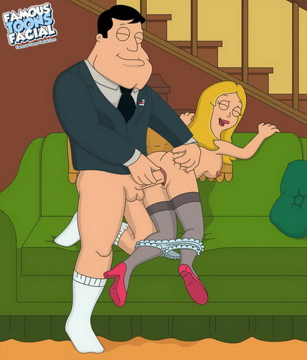 American Dad! – Stan Smith fucks sexy Francine rude!!