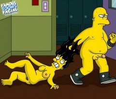 Hot sluts from the Simpsons