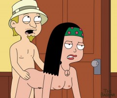 American dad sex comics: Stan and Francine - American Dad Porn