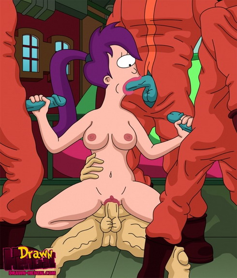 Toon FanClub presents Futurama porn stories