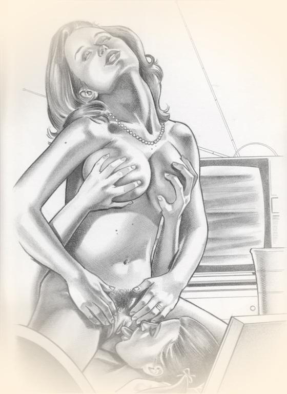 Порно рисованное лесби