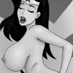Halloween sex toons - Hot witch in orgy! - All Toons Super Villain Porn Comics